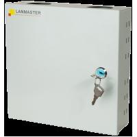 Кросс оптический LANMASTER настенный на 8 SC/ST/FC адаптеров