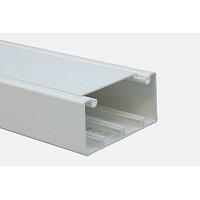 Кабель-канал DLP 35x105 - 1 секция - 1 крышка 85 мм - длина 2 м - белый