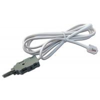 Соединительный шнур для плинтов, 2-х полюсный LSA/RJ12, 1.5м TWT-LSA-P2-12-1.5m