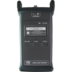 Источник лазерного излучения FOD-2108 (1310 nm/SM, FC)