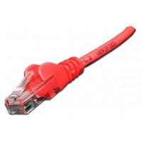 Патч-корд RJ45 UTP кат 6 шнур медный LANMASTER 3.0 м LSZH красный