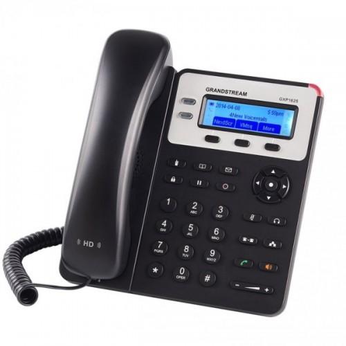 IP-телефон, 2 SIP линии, POE, 2 порта 10/100 Mbps, HD аудио, Grandstream GXP1625 GXP1625