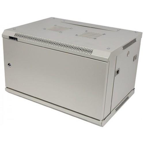 """Шкаф TWT настенный 19"""" серии Pro, 27U 600x450, металлическая дверь TWT-CBWPM-27U-6x4-GY"""