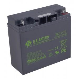 Аккумуляторная батарея В.В.Battery BC 17-12 (12V 17Ah)