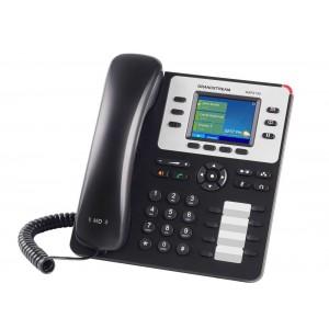 IP-телефон, 3 SIP линии, PoE, цветной дисплей 2.8 дюйма, Grandstream GXP2130