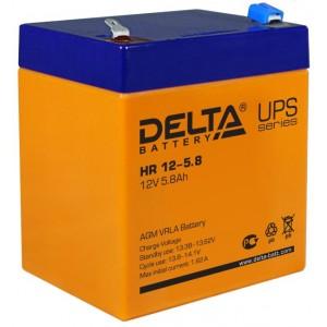 Аккумуляторная батарея Delta HR12-5.8