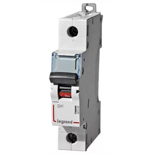 Автоматический выключатель Legrand  DX3-E C16 1П 6kA (407263) 407263