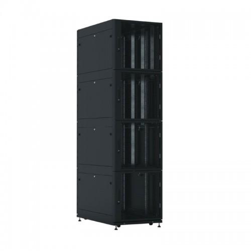 Шкаф ЦМО серверный ПРОФ напольный колокейшн 44U (600x1000) 4 секции, дверь перфор. 2 шт., в сборе ШТК-СП-К-4-44.6.10-44АА-Ч