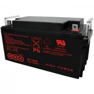 Аккумуляторная батарея WBR GP12650 (12V 65Ah)