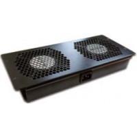 Блок 2-х вентиляторов с подшипниками, в крышу шкафа Business Advanced, наборный, без шнура питания