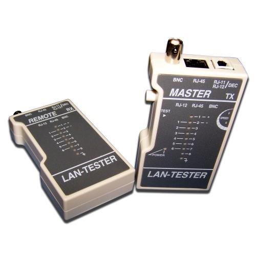TWT Кабельный тестер витой пары TST-200 (без батареек) TWT-TST-200