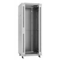 """Cabeus SH-05C-32U60/80 Шкаф 19"""" 32U напольный телекоммуникационный 600x800 серый,дверь стекло"""