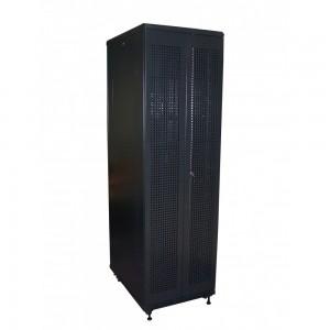 """Шкаф TWT серверный 19 """" Business Advanced, 37U 600x800, с перфорированными дверьми, черный"""