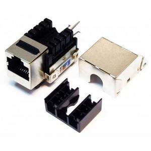 Кейстоун розеточный модуль Keystone MDX,  RJ45, кат.6, FTP, 90 градусов