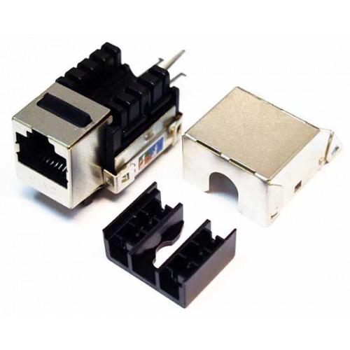 Кейстоун розеточный модуль Keystone MDX,  RJ45, кат.6, FTP, 90 градусов MDX-KEY45-F6