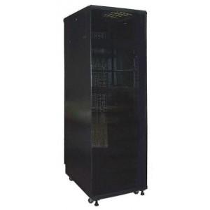 """Шкаф TWT серверный 19"""" Business Advanced, 27U 600x600, без дверей, с боковыми стенками, черный"""