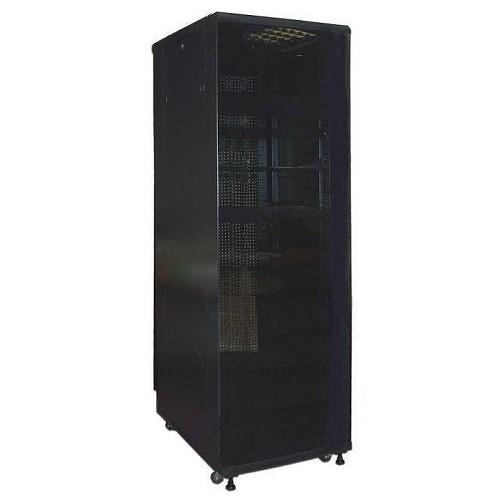 """Шкаф TWT серверный 19"""" Business Advanced, 27U 600x600, без дверей, с боковыми стенками, черный TWT-CBA-27U-6x6-00"""
