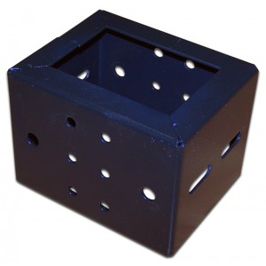 Монтажные проставки для шкафов серии Business шириной 800 мм, 6 шт., черные