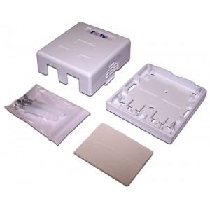 TWT-SA2-WH Настенная коробка 2 порта для Keystone
