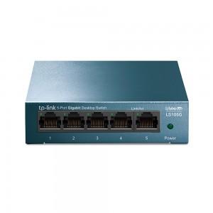 5-портовый 10/100/1000 Мбит/с настольный коммутатор.