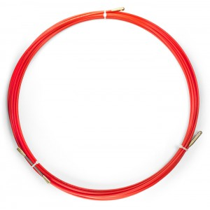 Устройство для протяжки кабеля мини УЗК в бухте, 10 м, диаметр прутка 3,5 мм