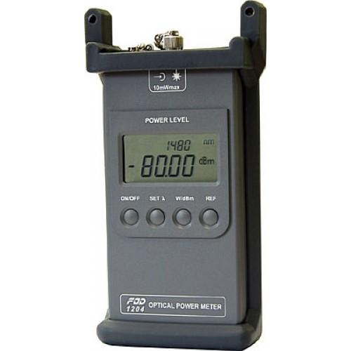 Портативный измеритель мощности FOD-1204 (InGaAs, 0.85/0.98/1.31/1.48/1.55 mkm, FC, -73...+7 dBm) FOD-1204