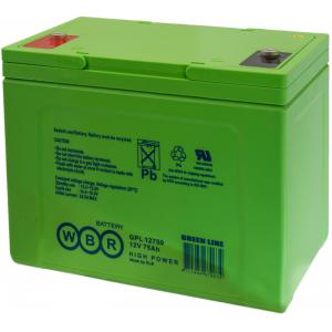 Аккумуляторная батарея WBR GPL12750 (12V 75Ah)