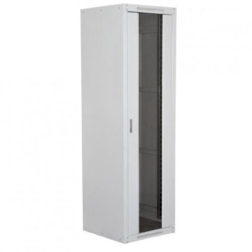 Шкаф серверный MDX Econom 32U 600x800, передняя дверь со стеклом, серый MDX-RE-32U60-80-GS-GY