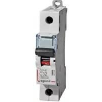 Автоматический выключатель Legrand  DX3-E C32 1П 6kA (407266)