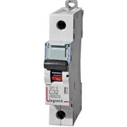 Автоматический выключатель Legrand  DX3-E C32 1П 6kA (407266) 407266