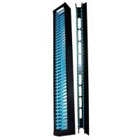 Вертикальные органайзеры повышенной емкости, 42U, для шкафов Business шириной 800 мм, 2 шт., черные