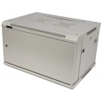 """Шкаф 19"""" 22U 600x800 настенный, TWT серии Pro, дверь металл, разборный"""