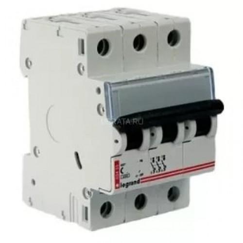 Автоматический выключатель Legrand 3п 63А  6кА (L03457) L03457