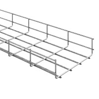 Лоток проволочный OSTEC 400х105х3000 метал.