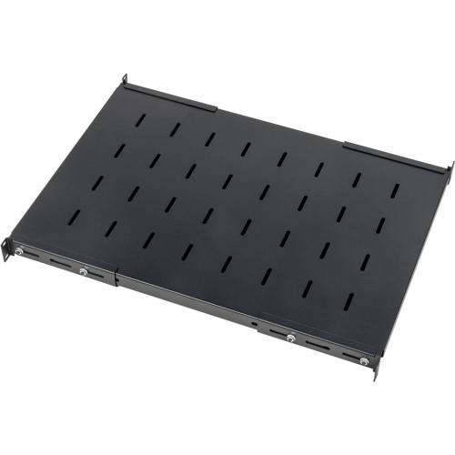 Полка с креплением на 4 точки для шкафов LANMASTER DCS глубиной 1200 мм, нагрузка - 45 кг LAN-DC-CB-S4-12/45