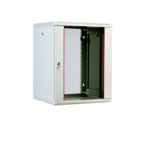 """Шкаф 19"""" ЦМО 9U телекоммуникационный настенный разборный 600х520, съемные стенки, дверь стекло"""
