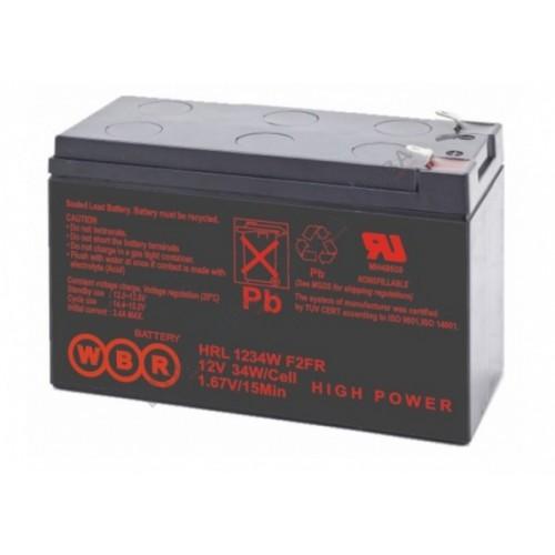 Аккумуляторная батарея WBR HRL1234WF2 (12V 9Ah) WBRHRL1234WF2