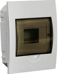 Бокс встраиваемый ЩРВ-П-4, 4 модуля, прозрачная дверь, пластик, IP41, ИЭК