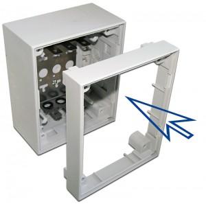 Проставка для увеличения глубины настенного бокса TWT-DB10-5P/K
