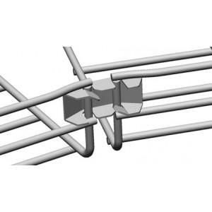 Безвинтовой соединитель угловой проволочного лотка Cablofil FASLOCKSGS