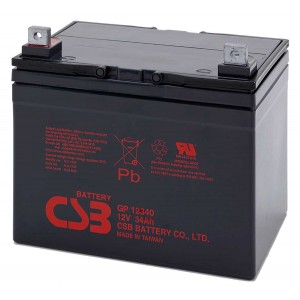 Аккумуляторная батарея CSB GP12340 (12V34Ah)