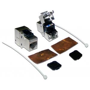 LAN-OK45S6A/180 Модуль Keystone, RJ45, кат.6A, STP, 180 градусов
