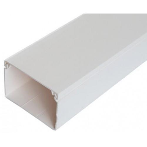 Мини-канал Metra - 60x40 - 2 метра - с крышкой - белый 638197