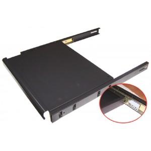 Полка для клавиатуры выдвижная 4 точки, для напольных шкафов глубиной 800 мм, нагрузка - 20 кг
