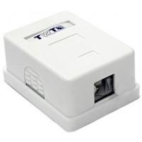 TWT-SA1-WH Настенная коробка 1 порт для Keystone