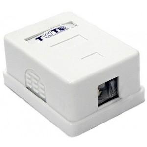 Настенная коробка 1 порт для Keystone