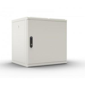 """Шкаф 19"""" ЦМО 9U телекоммуникационный настенный разборный 600х520, съемные стенки, дверь металл"""
