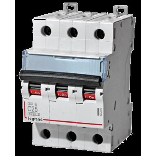 Автоматический выключатель Legrand  DX3-E C25 3П 6kA (407293) 407293