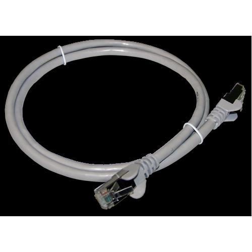 Патч-корд RJ45 TWT кат 6 FTP шнур медный экранированный 3.0 м серый TWT-45-45-3.0/S6-GY