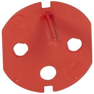 Ключ блокиратор на вилку 2К+3 для розеток Legrand с механической блокировкой